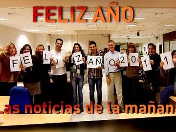 Noticias de la mañana les desea un Feliz 2011