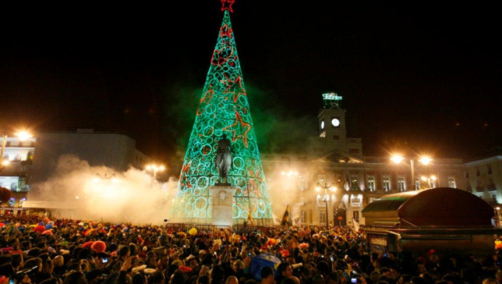 La Puerta del Sol recibe al 2011