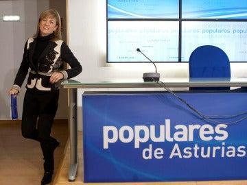 Pérez-Espinosa, candidata del PP en Asturias
