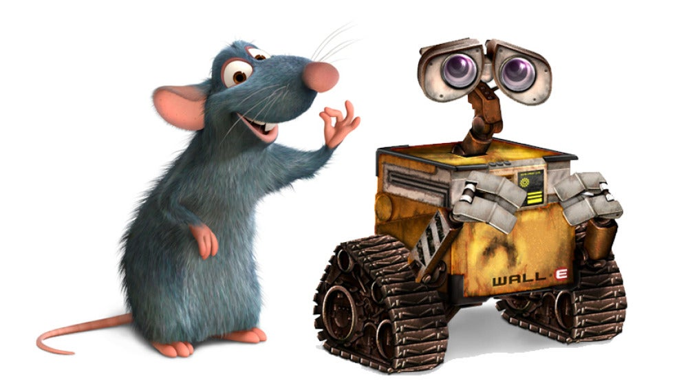 Ratatouille y Wall-E