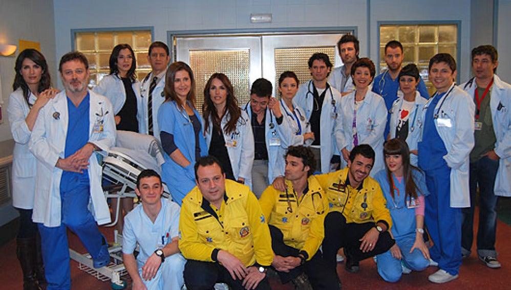 La plantilla de Hospital central