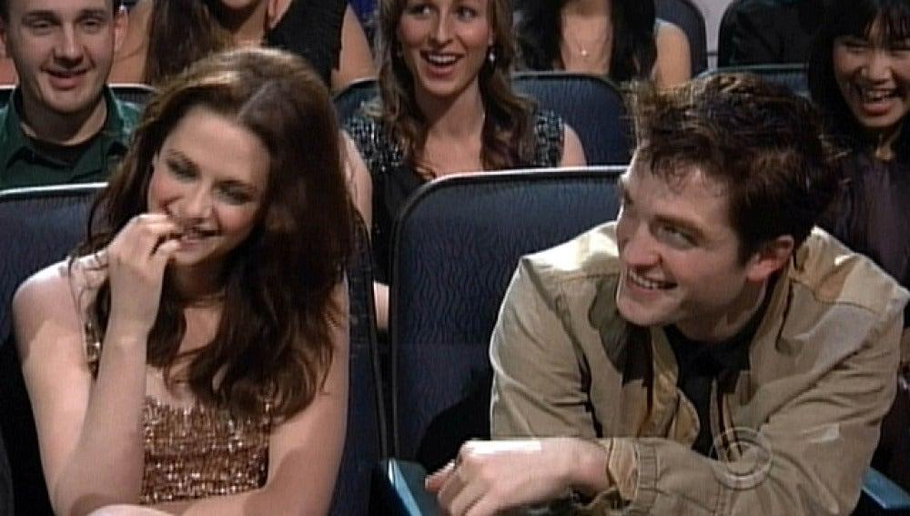 Robert Pattinson y Kristen Steward