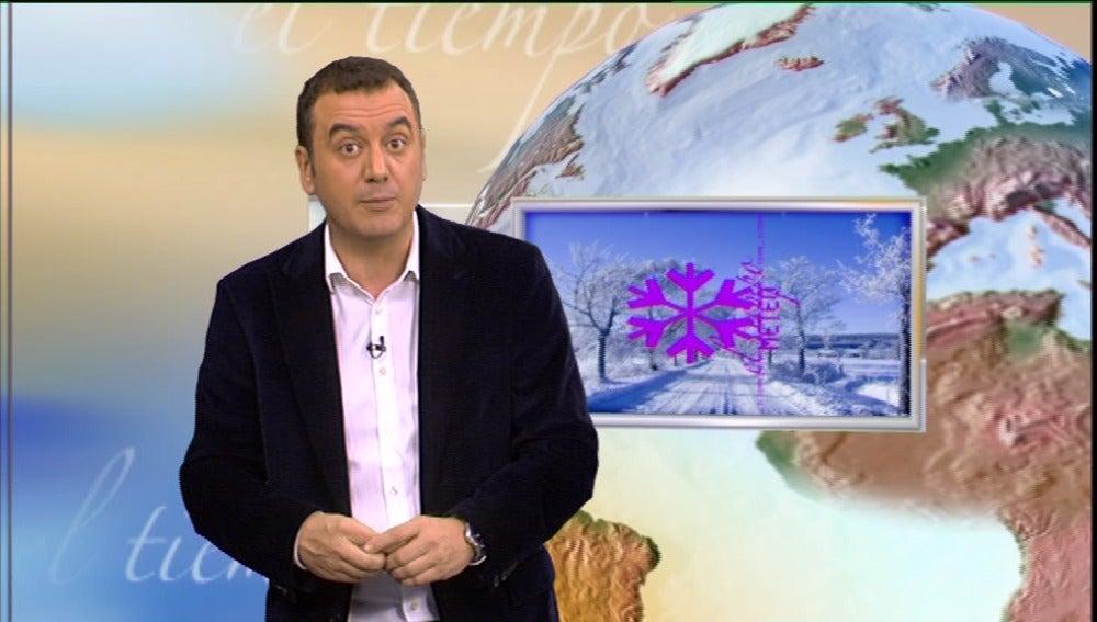 La previsión del tiempo (07-01-2011) mediodía