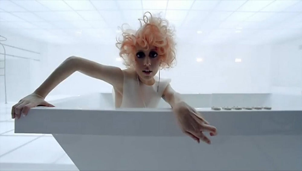 Lady Gaga en Bad Romance