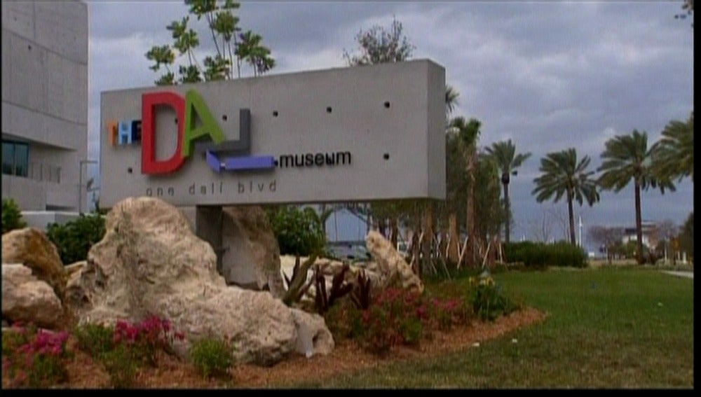 Exterior del museo Dalí en Florida