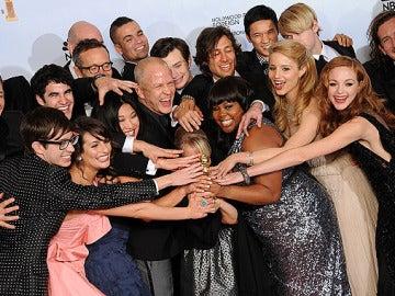 Glee celebra el Globo de Oro