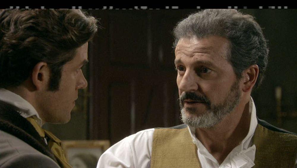 Don Germán confía en su hijo bajo condiciones