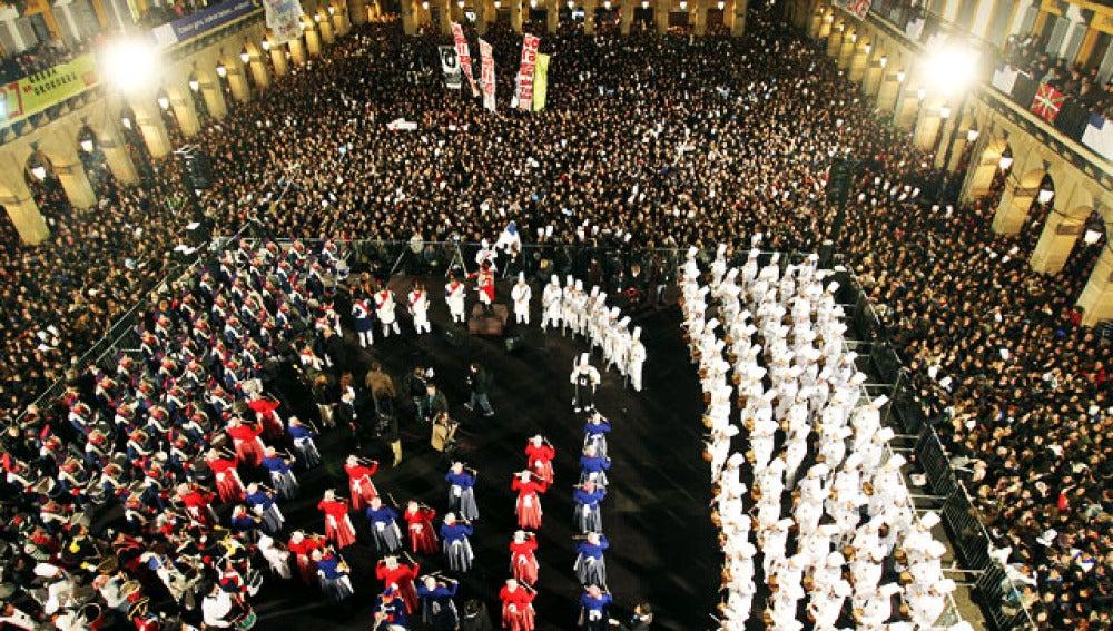 Fiesta grande de San Sebastián (20-1-2011)