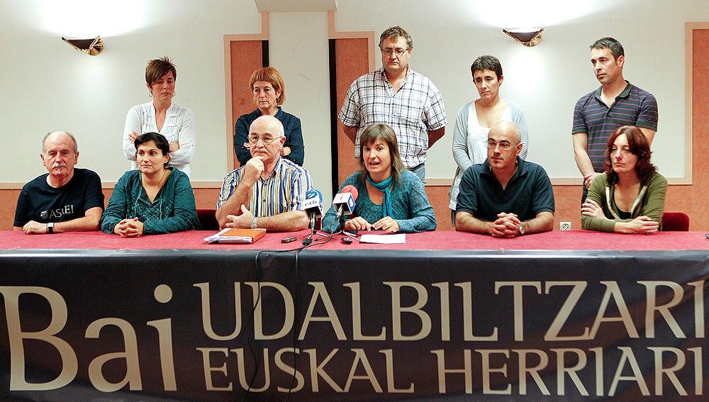 Rueda de prensa de Udalbiltza