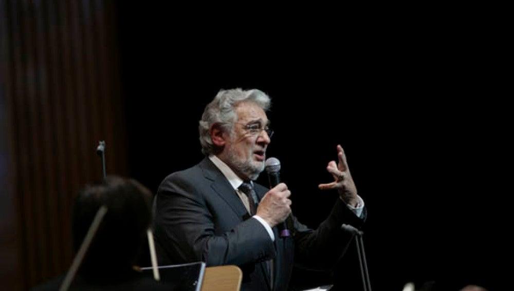 Plácido Domingo regala en su cumpleaños a Madrid el chotis de su nombre