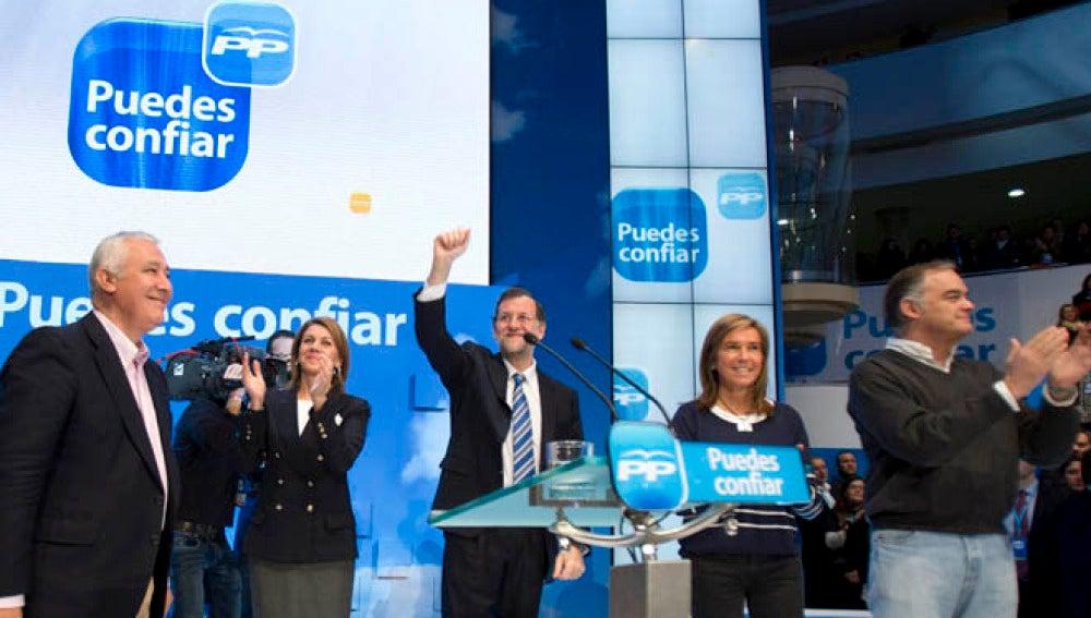 Rajoy cree que Rubalcaba podría ser su rival en las próximas elecciones