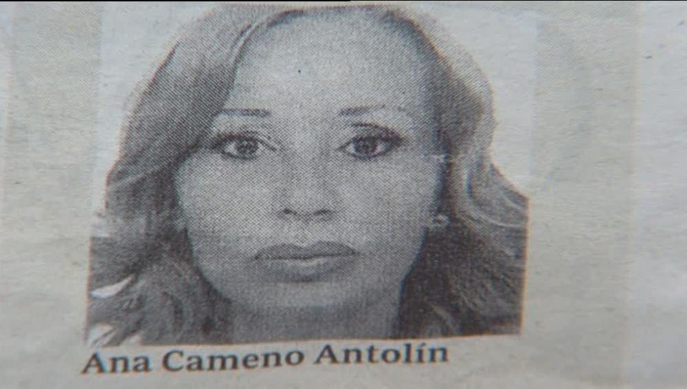 esla única fotografía que se conoce de Ana María Camero Antolín, la reina de la cocaína