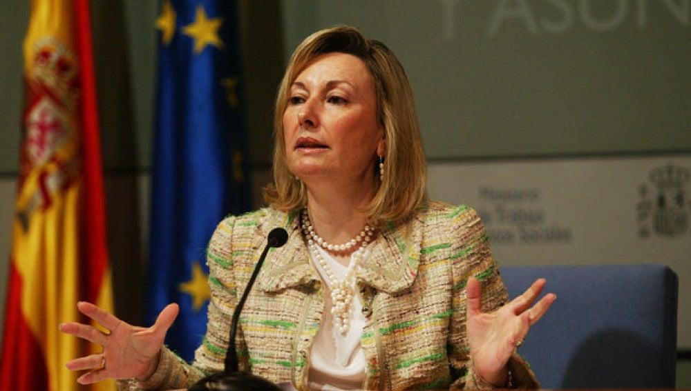 Amparo Valcarce, miembro del PSM