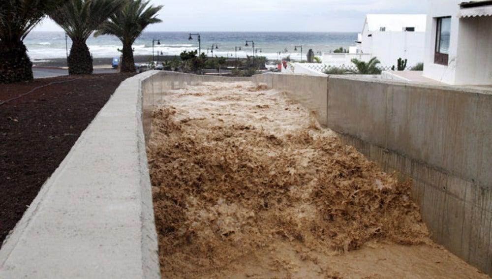 Lluvias en Canarias