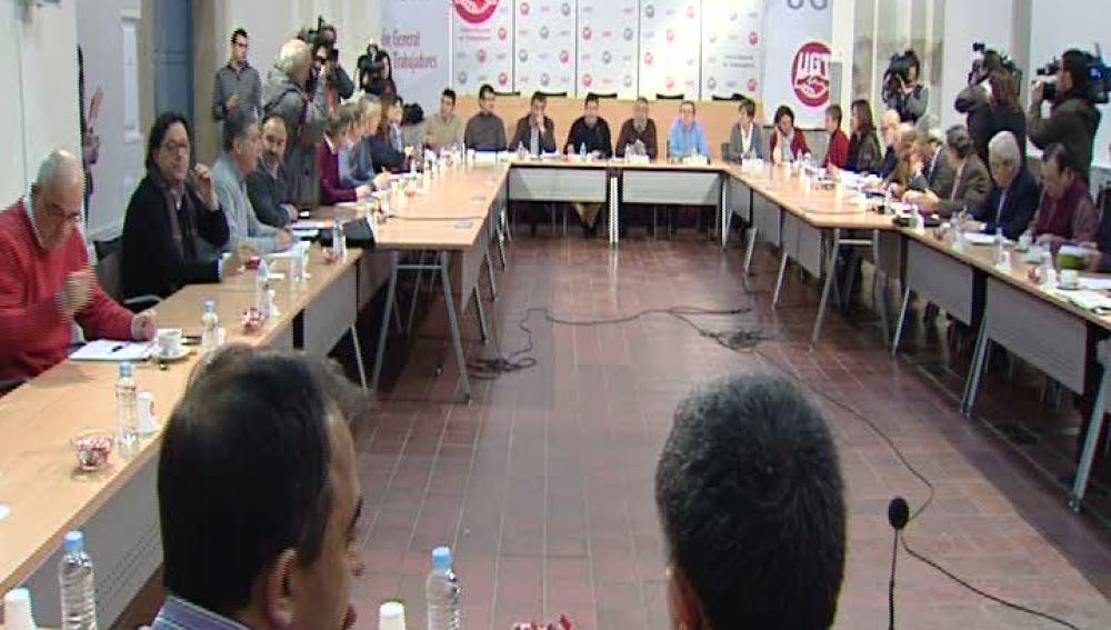 Reunión delegados sindicales de UGT