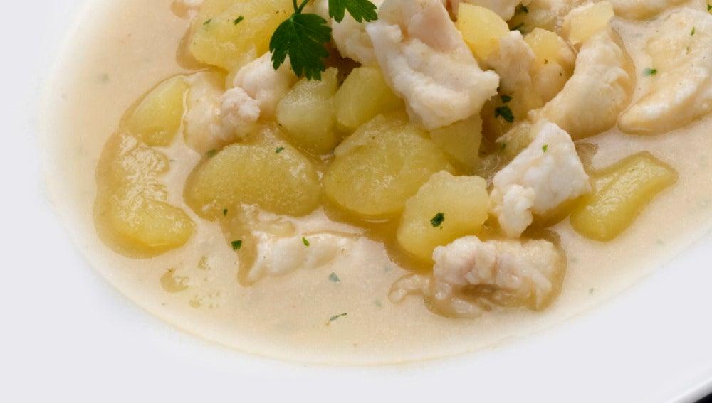 Patatas con congrio