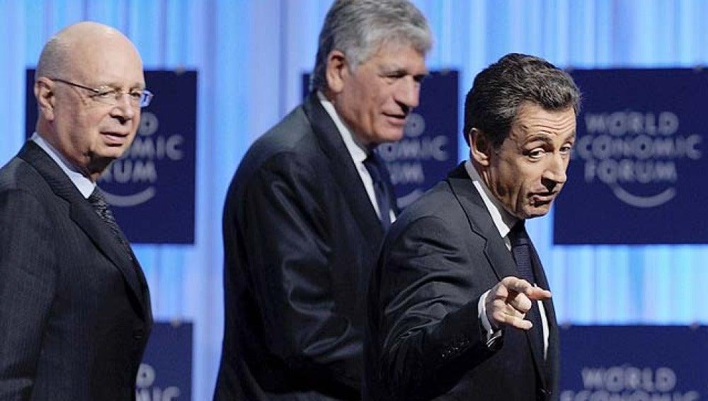 Sarkozy en Davos