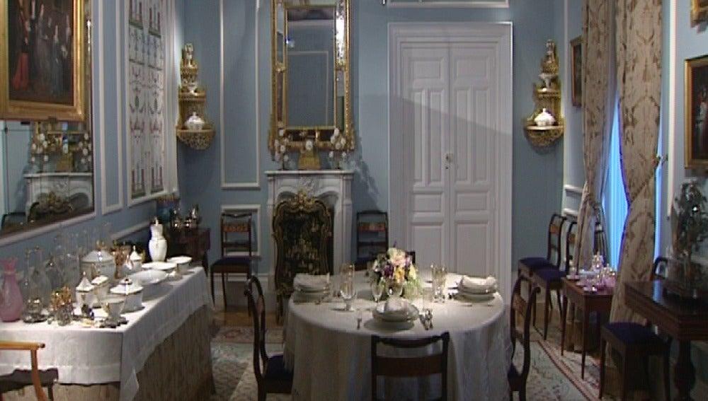 Comedor de  gala del siglo XIX