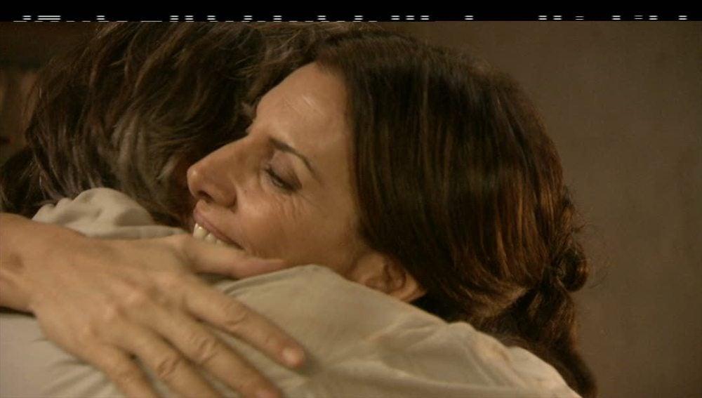 Carmen y Tomás se reconcilian
