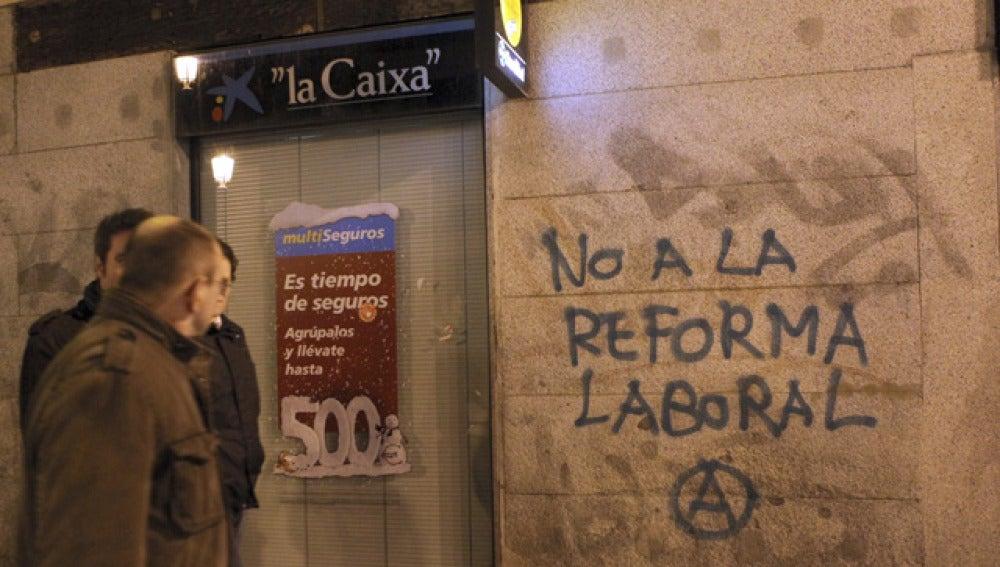 Protestas contra la reforma laboral