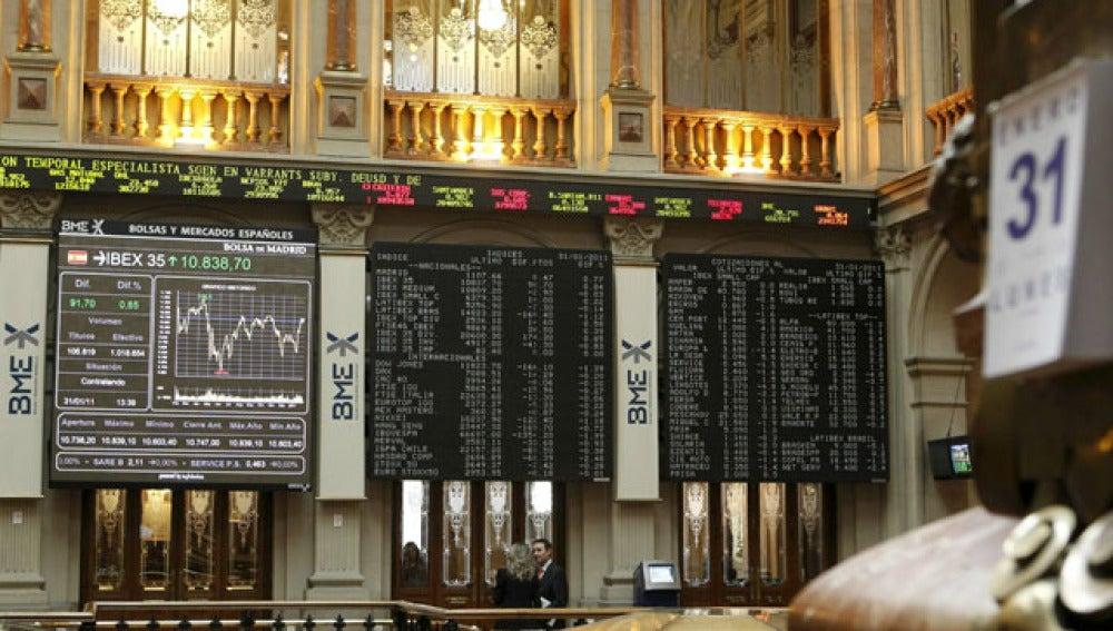 El Ibex 35 cierra la jornada con una subida del 0,55%