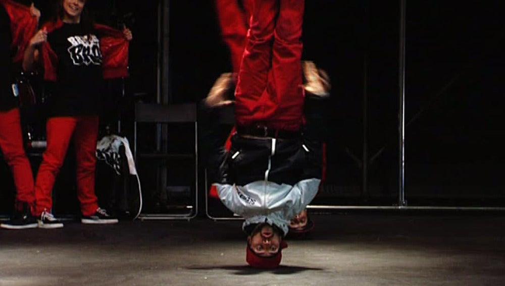 Bailarín de hip hop