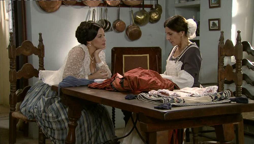 Enfrentamiento entre Martina y Carmen
