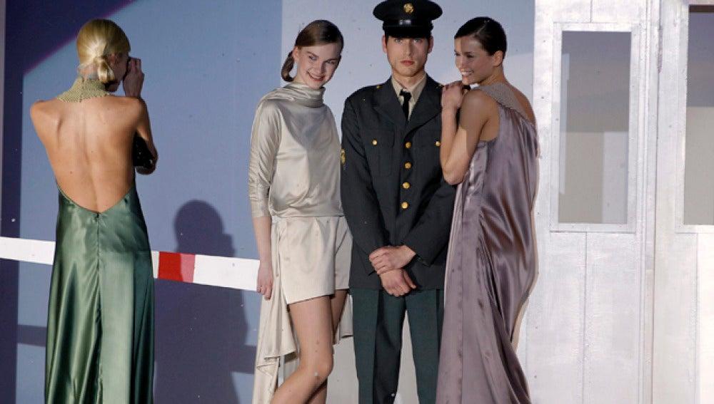 Diseños de Álex Vidal en Valencia Fashion Week