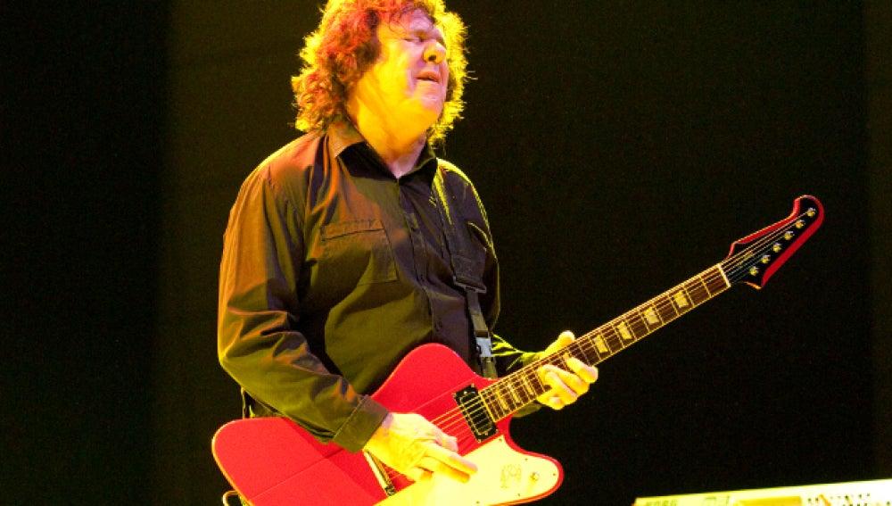 El guitarrista Gary Moore