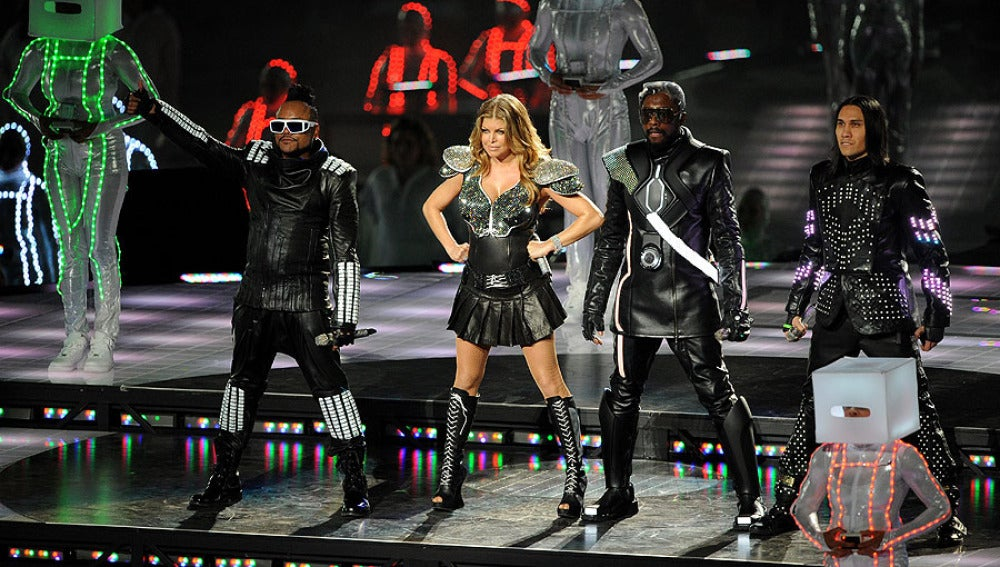 Black Eyed Peas en la Super Bowl