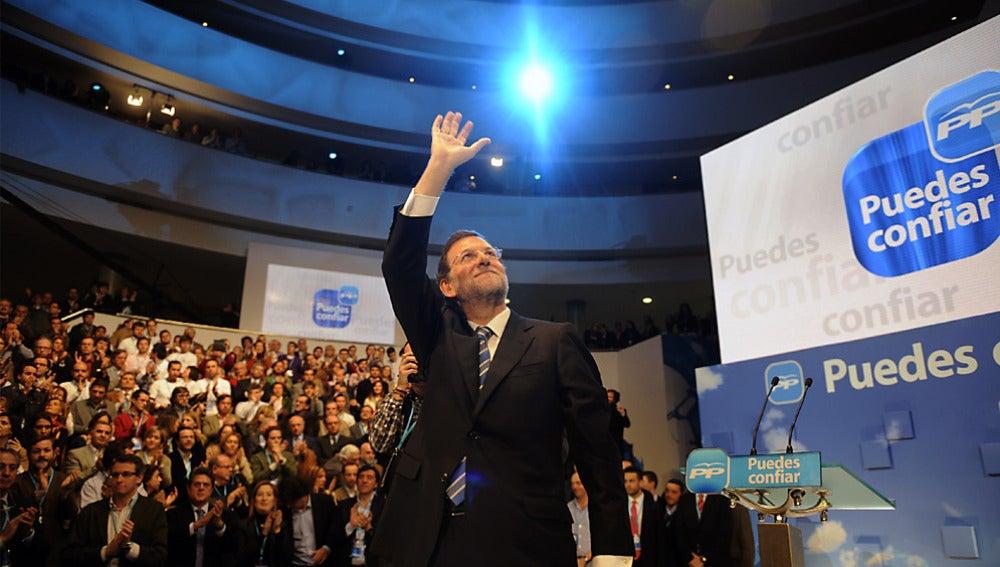 Rajoy en la clausura del Comité Nacional del PP