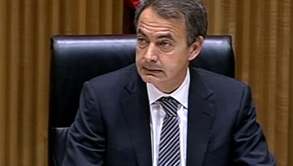 El jefe del Gobierno, José Luis Rodríguez Zapatero