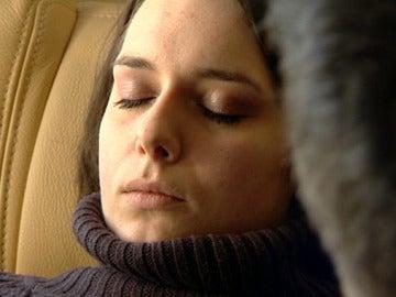 Jessica, durante su tratamiento para dejar de fumar
