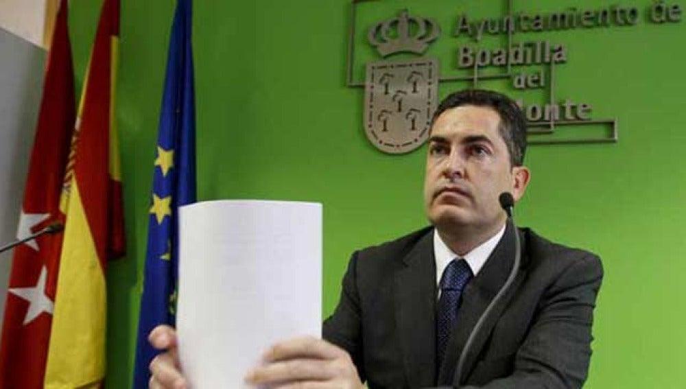 Juan Siguero, alcalde de Boadilla del Monte