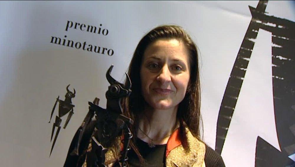Montse de Paz, ganadora del Premio Minotauro