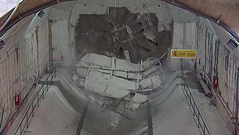 Túnel que unirá Atocha con Chamartín