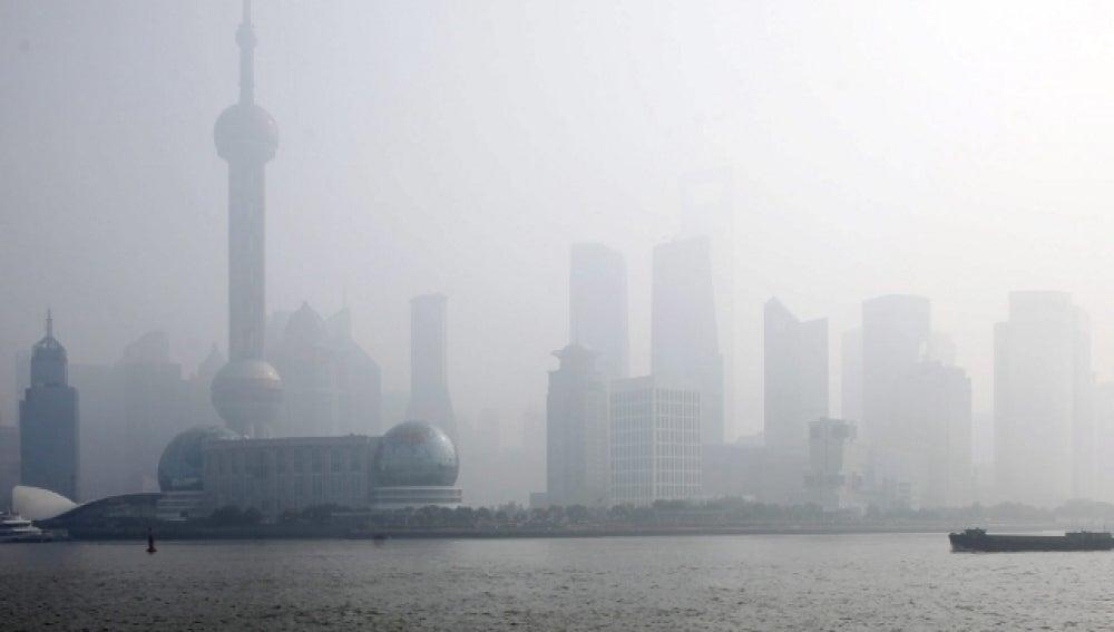 Vista de Shangai en China