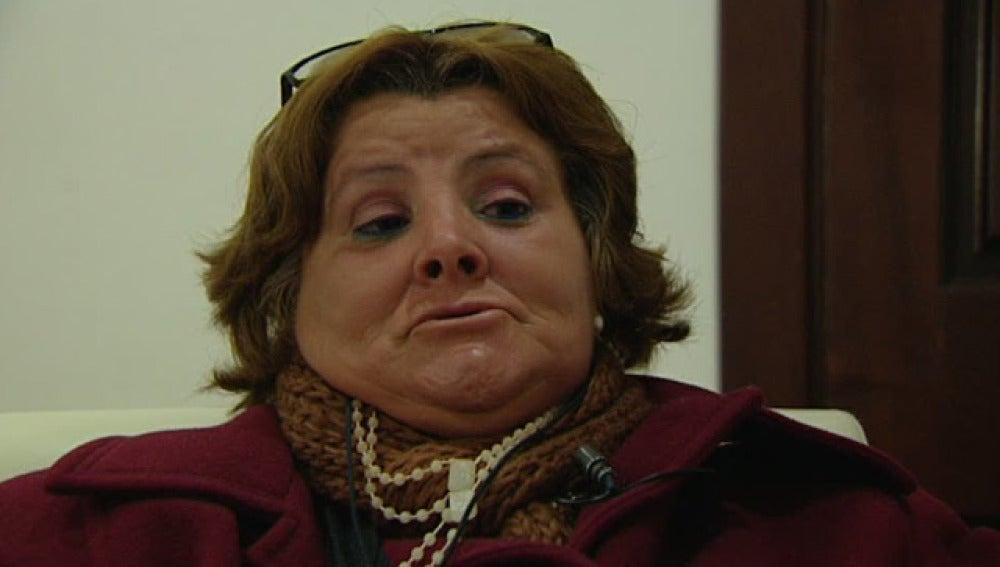 Isabel García, esposa de Santiago del Valle