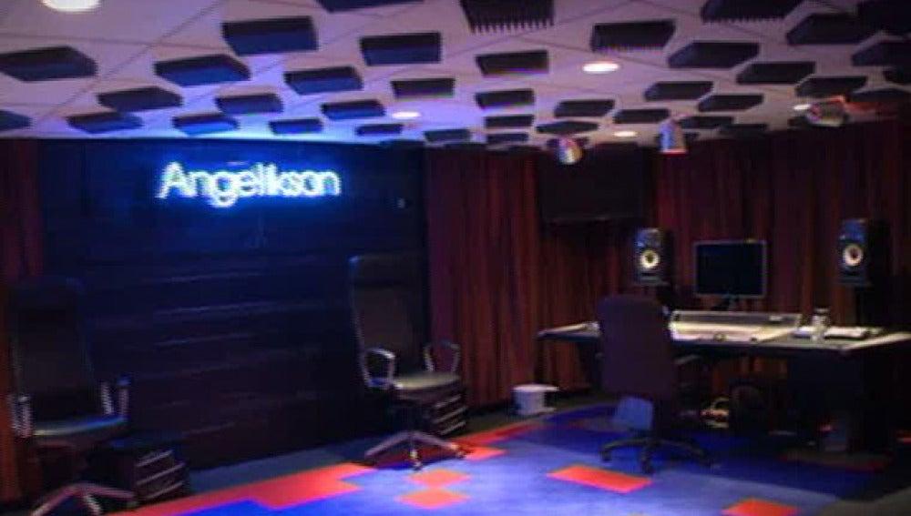 El estudio de grabación del último disco de Michael Jackson