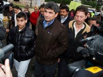 Juan José Cortés a la salida de los juzgados