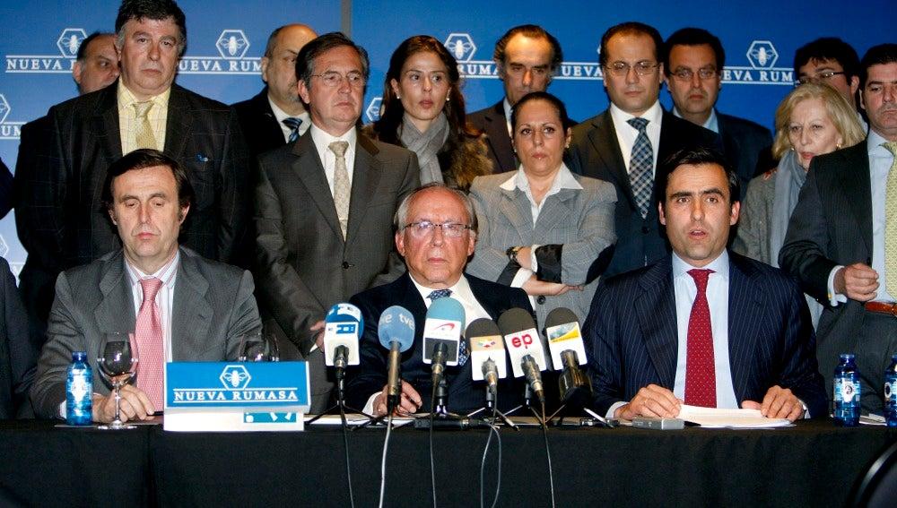 Ruiz Mateos comparece ante los medios