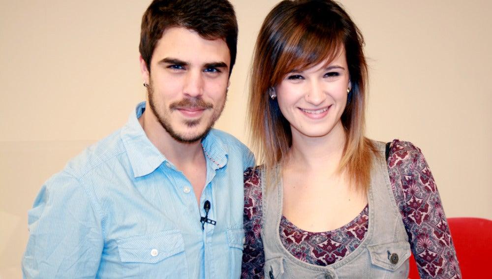 Javier y Ally (Ángel de Piti)