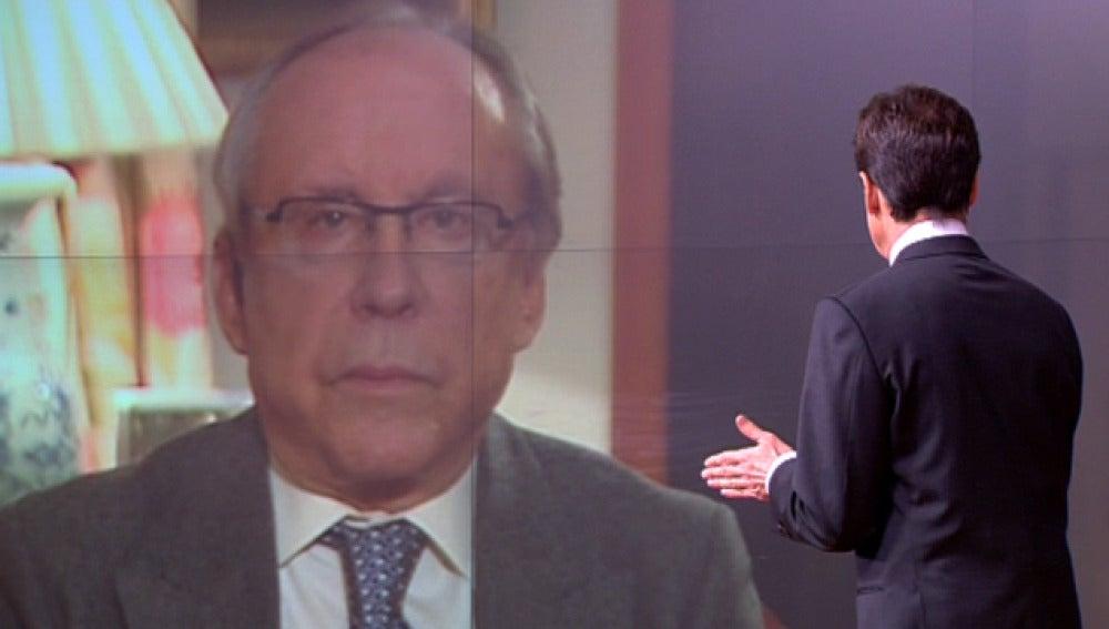 Ruiz-Mateos charla con Matías Prats