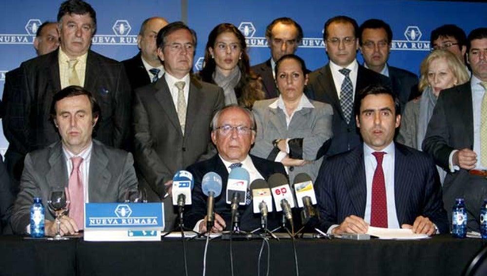 Rueda de prensa de Nueva Rumasa