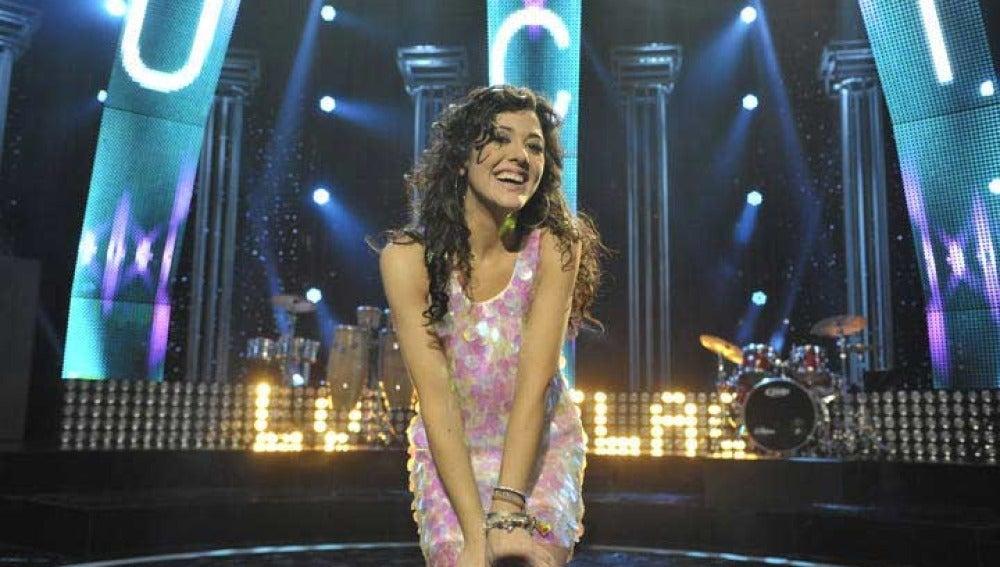 Lucía Pérez, candidata española a Eurovisión