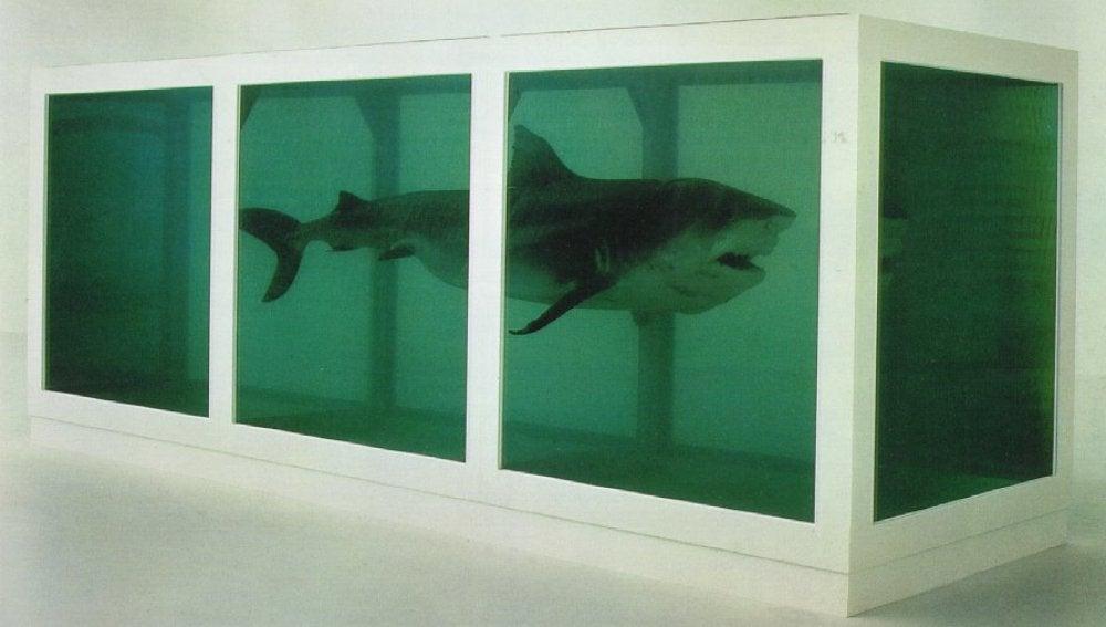 El tiburón de Damian Hirst