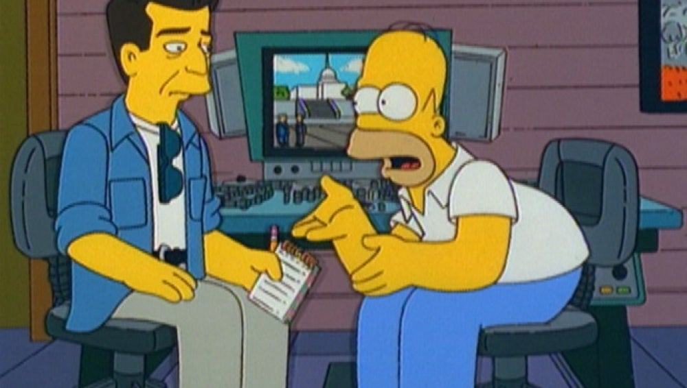 Mel Gibson en Los Simpson