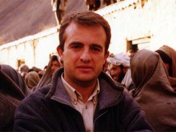 El reportero Ricardo Ortega