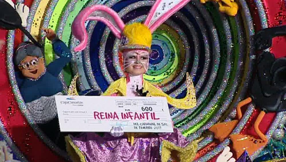 Reina infantil del Carnaval de Tenerife