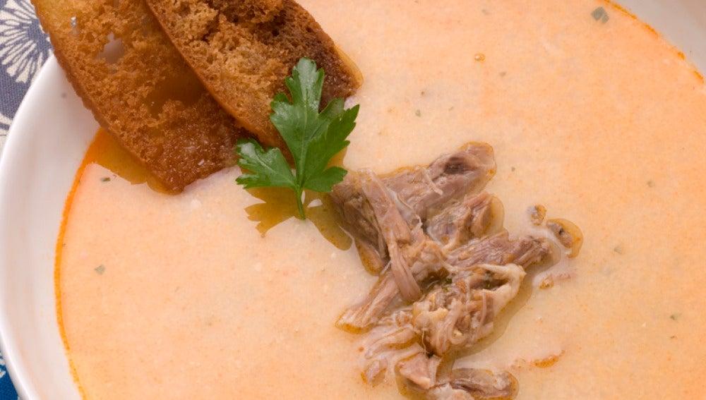 Sopa de cordero